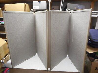 Quartet Folding Tabletop Display Panels 4 Panels 773630 30 X 18 12 With Case