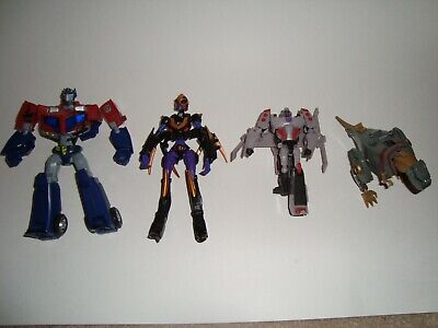 Transformers Animated Lot Of 4 Figures Incomplete