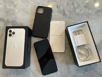 Apple iPhone 11 Pro - 256GB - Silver (AT&T) A2160 (CDMA + GSM)