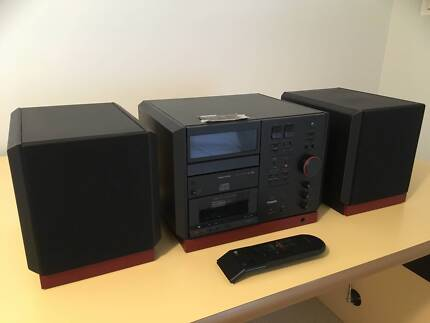bookshelf cd com product stereo system changer sony qvc player with shelf disc