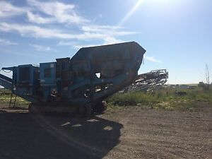 2005 Terex Pegson HA400 tracked jaw crusher