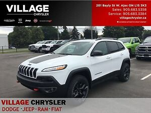 2017 Jeep Cherokee TTrailHawk|Safety/Tec|Nav|TOW|Leather|Panoroo