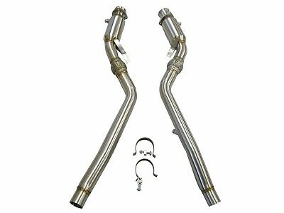 Becker Stainless Steel Turbo Downpipe For 2004 To 2008 Audi S4 B6 B7 Manual ONLY
