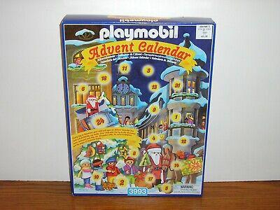 Playmobil 3993 Christmas Advent Calendar Town Square Lantern Parade Santa MIB