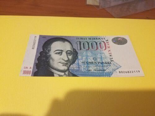 Finland 1000 markka Gem UNC