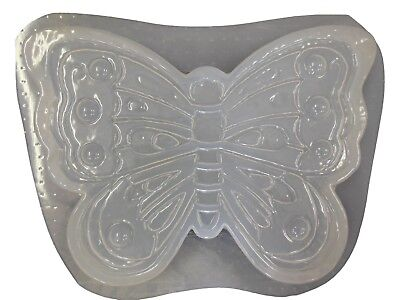 Huge Butterfly Stepping Stone Plaster or Concrete Mold 1266 (Butterfly Stepping Stone Mold)