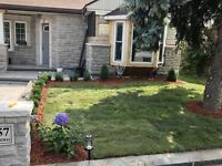 Sod Installation, Removal and Repair