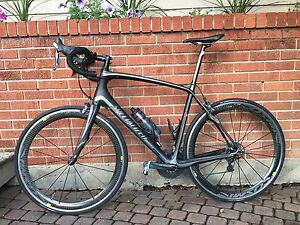 Specialized Roubaix Comp w/ Mavic Cosmic Wheelset + Stages Power
