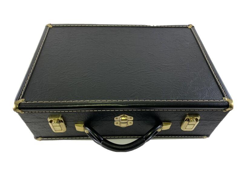 Extremely Sturdy Vintage Style Hardwood Leather Cornet Case #4