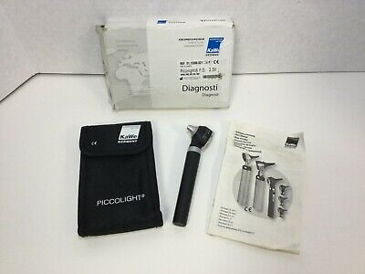 Kawe Piccolight Ophthalmoscope Otoscope Includes Carrying Case Free Shipping