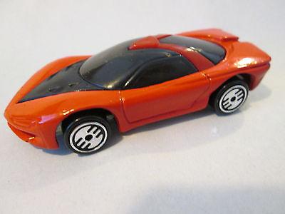 1989 Hot Wheels Ultra Hots Red Pontiac Banshee Concept Sports Car Malaysia Mint