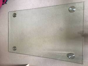 Glass dining table - TOP (glass) only Lane Cove Lane Cove Area Preview