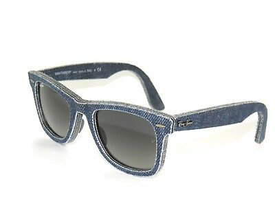 BEST DEAL*RAY BAN SunglaSSeS 2140 BLUE DENIM/MIRROR 1163/71 Rayban WAYFARER