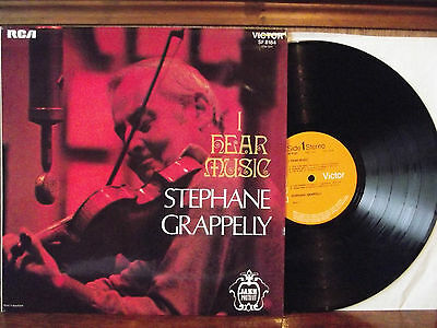 STEPHANE GRAPPELI - I HEAR MUSIC (LP) 1971
