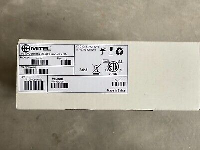 Mitel 5610 Cordless Dect Handset New In Sealed Box