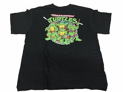 Teenage Mutant Ninja Turtles TMNT Cast In Front of Manhole Men's T Shirt X-Large - Ninja Turtle Shirt