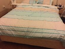 Queen Size Bed Base and Mattress - perfect condition Dulwich Hill Marrickville Area Preview