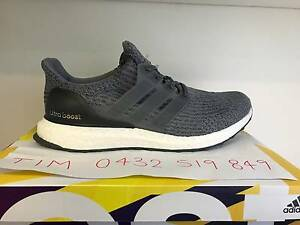 Adidas Ultra Boost 3.0 Grey US9 & US9.5 $260 RETAIL PRICE!!!!! Hoppers Crossing Wyndham Area Preview