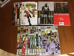 Luke Cage (Power Man & Iron Fist) Comics Lot