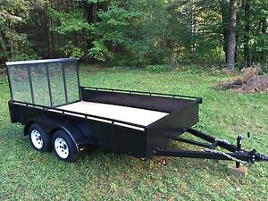 NEW 2016 6x12 Tandom HD Utility Trailer - with Breaks **$800 OFF