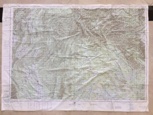 VINTAGE Vietnam War DOD EVASION CHART EVC 500-1 Laos Thailand WAR MAP STAR CHART