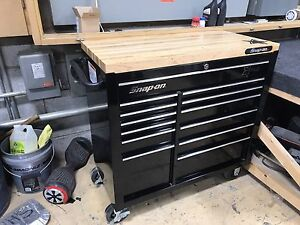 """Snap On 40"""" Heritage 13 drawer toolbox with top"""