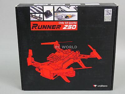 Walkera RC RACING Drone Quad RUNNER 250 Carbon Fiber Racing Drone KIT 45+ MPH