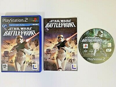 STAR WARS BATTLEFRONT PlayStation 2 PS2 Video Game | Shooter Action Video Game