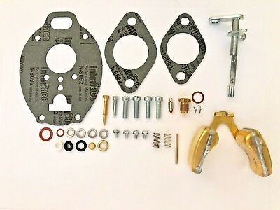 Oliver Tractor Carburetor Repair Kit W Float Tsx221 Tsx374 Tsx610 Tsx755 Tsx903