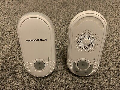 Motorola MBP8 Digital Audio Baby Monitor With High Sensitivity Microphone