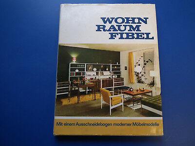 DDR-Wohnraumfibel, Einrichtung, Design 60er Jahre Möbel-Modelle-Bogen top 1975