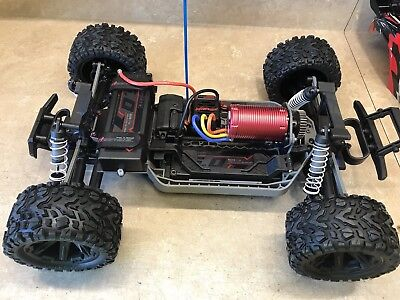 Factory Works Traxxas Rustler 4x4 Vertical Motor Mount Speed Run & Drag mod1