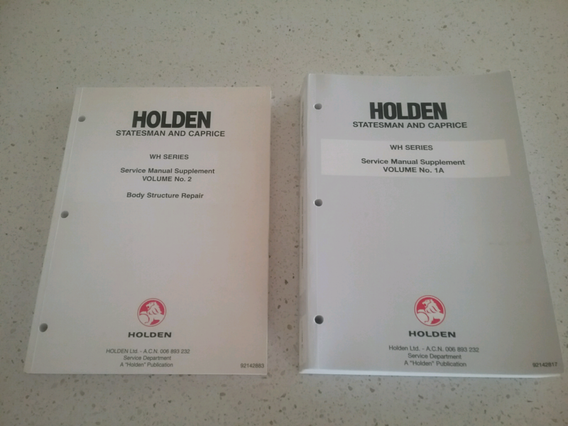 wh holden statesman service manual and body structure other rh gumtree com au 2013 Holden Statesman wh statesman workshop manual