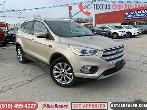 2018 Ford Escape Titanium | 4X4 | NAV | LEATHER | PANO ROOF | CA