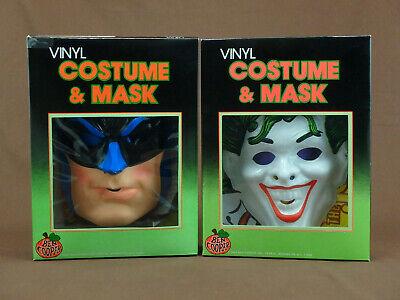 Batman And Joker Halloween Costumes (HALLOWEEN BATMAN and JOKER BEN COOPER COSTUME WITH MASK CHILDRENS SMALL (6-8))