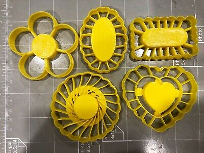 Thumbprint Shaped Cookie Cutters (Set Of 5) Shaped Cookie Cutter Set