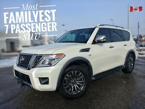 2018 Nissan Armada Platinum Massive List of Features FREE Del...