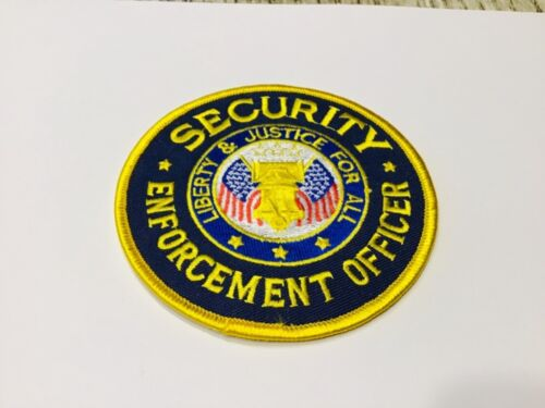 Security Enforcement Officer Liberty & Justice For All Patch
