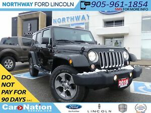 2018 Jeep Wrangler Unlimited Sahara | NAV | 4X4 | HEATED LEATHER