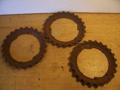 1 Vintage Cast Iron Jd Planter Plate H2824b Lot N7
