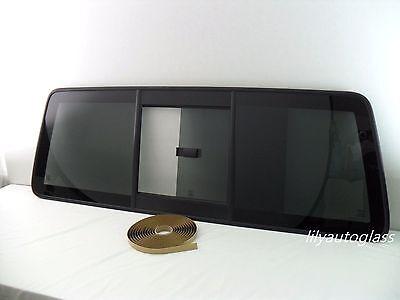 Fits Ford Ranger Mazda B-Series Pickup Back Slider Window Glass OEM W/Seal