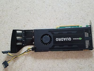 HP NVIDIA QUADRO K4000 3GB GDDR5 PCI-E 2XDP DVI VIDEO CARD 700104-001 713381-001