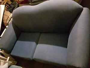 2 seater blue couch, slightly faded, no tears Glenside Burnside Area Preview
