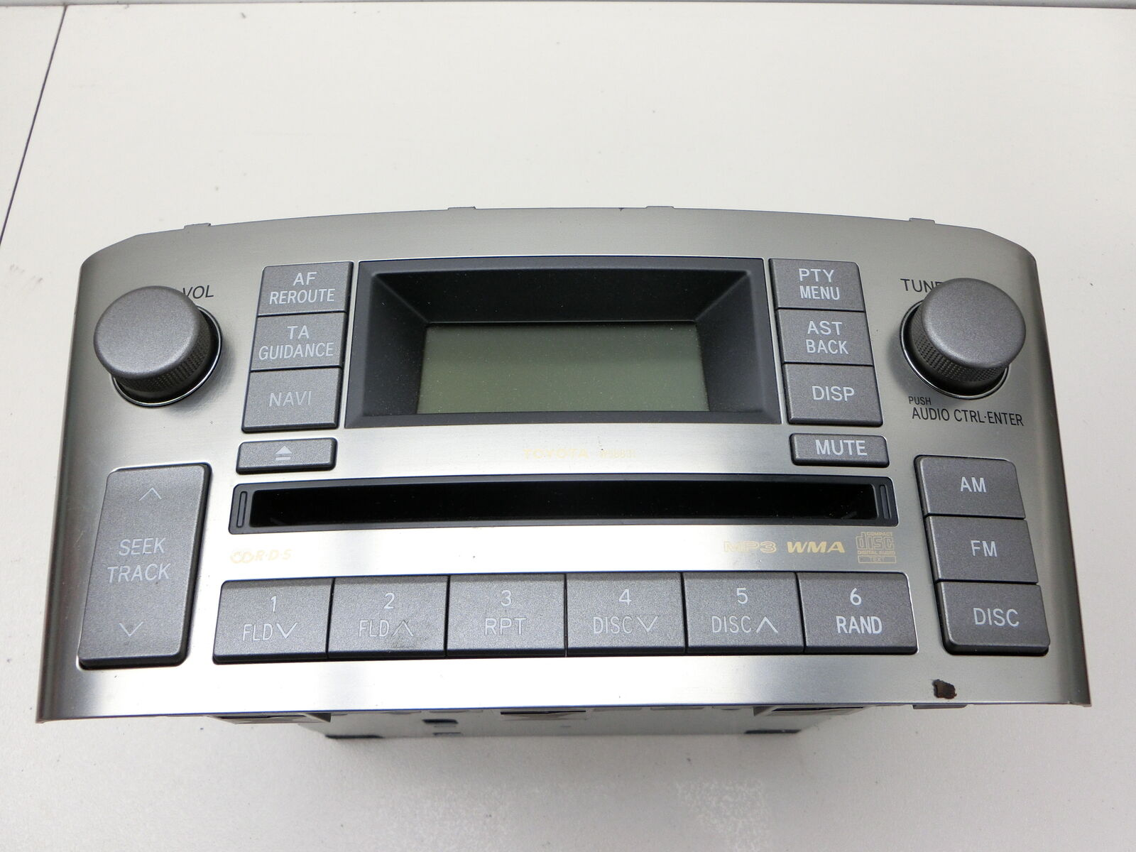 Details about Car Radio Radio / CD for Toyota Avensis T25 06-08 86120-05120  CQ-TS6671G