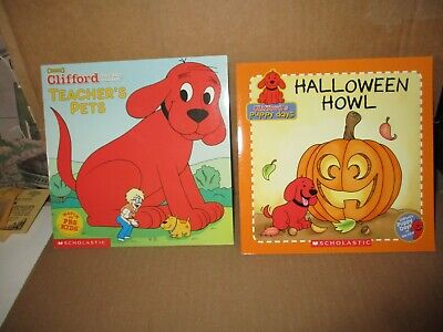 Clifford's Big Halloween (LOT: Clifford's Puppy Days: Halloween Howl & Clifford The Big Dog: Teacher's)