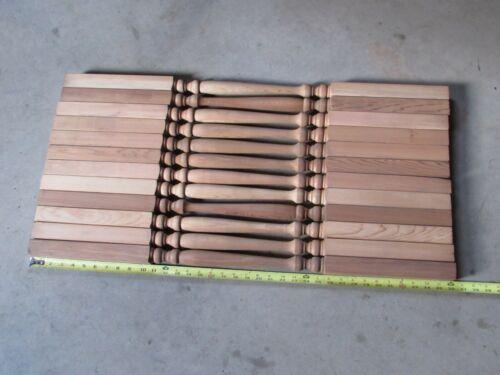 Wooden Railing Spindles Balusters / Cedar