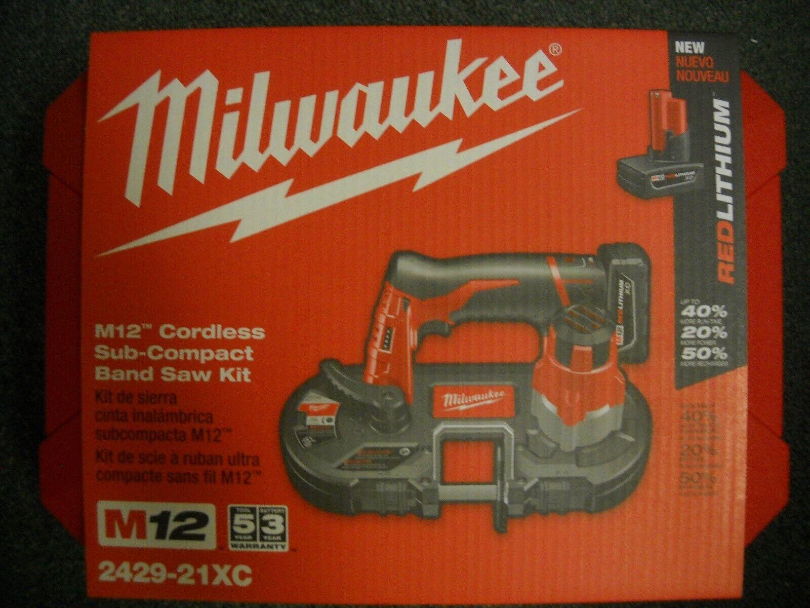Milwaukee 2429-21XC M12 12Volt Lithium-Ion Cordless Sub-Comp