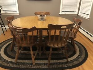 ***PRICE DROP***Dining Room Table & Chairs