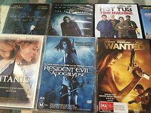 12 DVD Lot Titanic, batman, Monty Python Bligh Park Hawkesbury Area Preview
