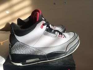 Air Jordan 3 Stealth Grey size 9.5